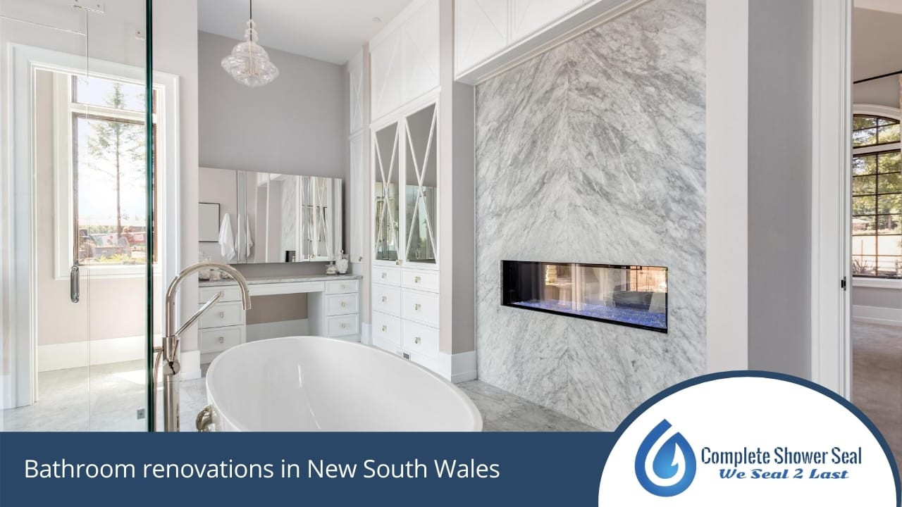 Bathroom renovations in New South Wales