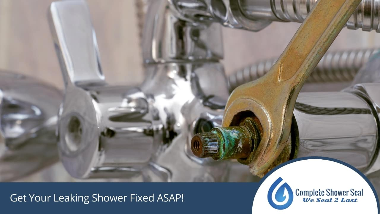Get Your Leaking Shower Fixed ASAP!