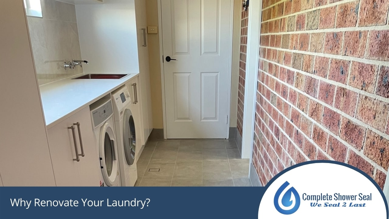 Why Renovate Your Laundry