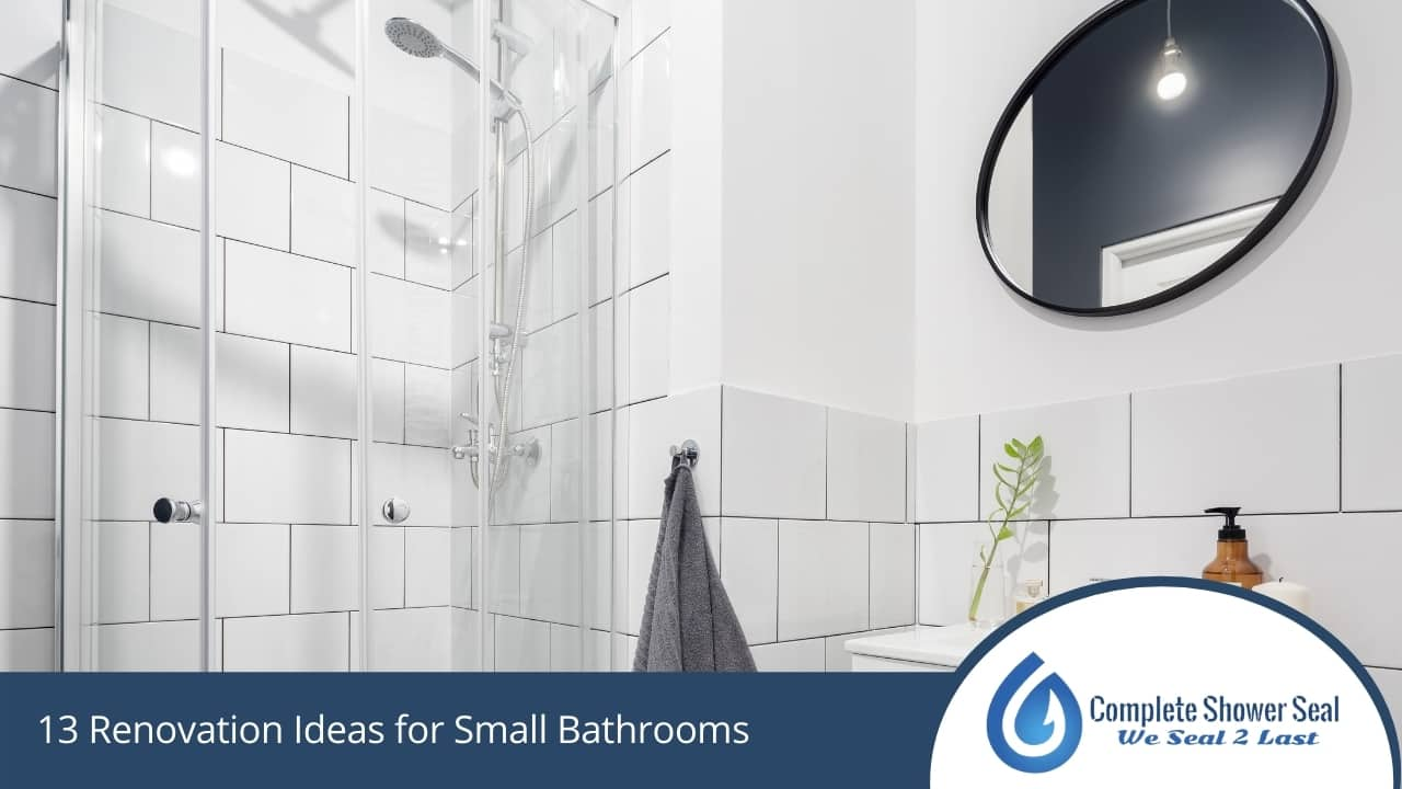 13 Renovation Ideas for Small Bathrooms